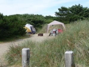 Barview Jetty Campground, Rockaway Beach