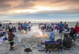 Rockaway Beach Oregon Fireworks