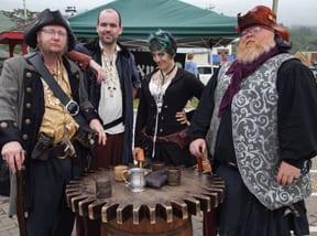Rockaway Beach Oregon Grog at the Pirate Festival