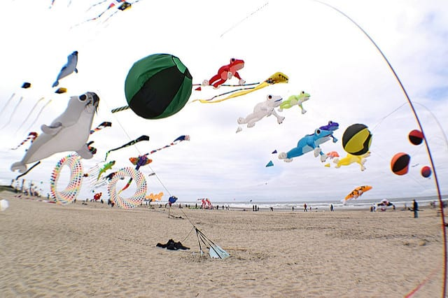 Rockaway Beach Oregon Kite Festival