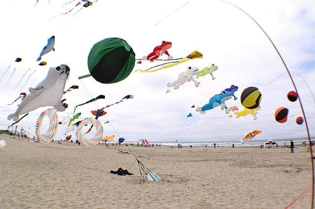 Rockaway Beach Oregon Kite Festival