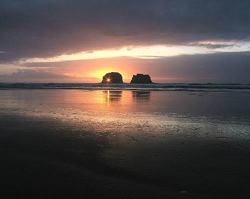 Twin Rocks Rockaway Beach