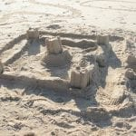 Children-Have-Created-Sand-Castle