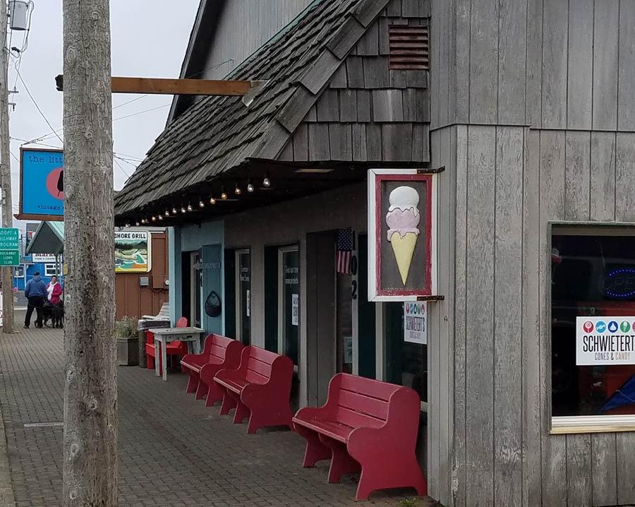 Schwietert's Cones and Candy, Rockaway Beach, Oregon