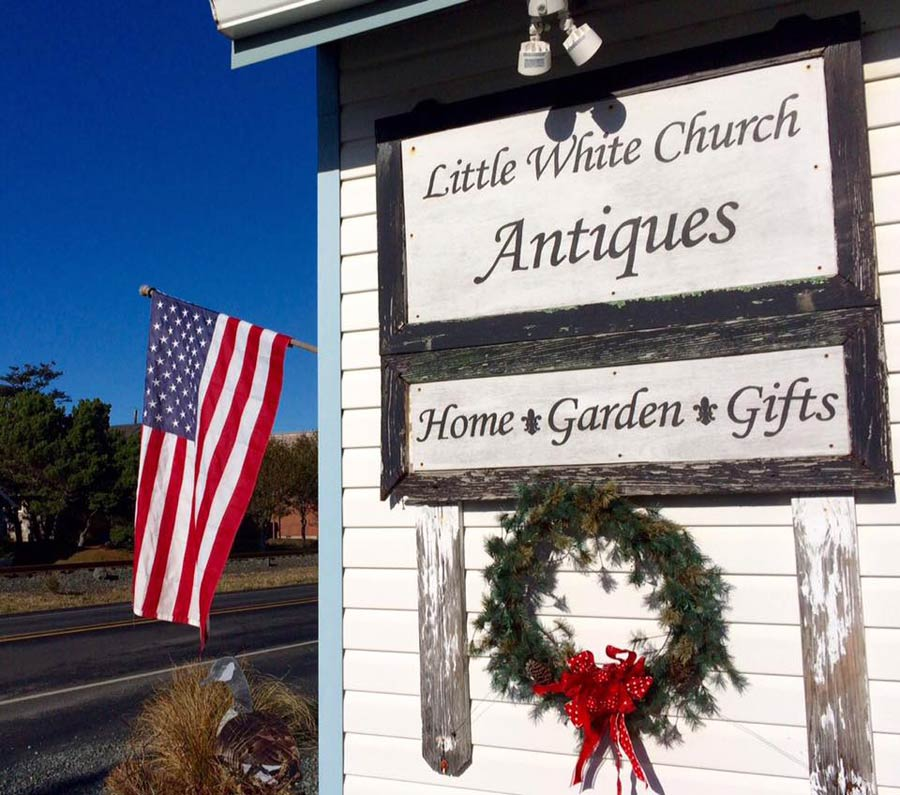 Little White Church Antiques, Rockaway Beach, Oregon