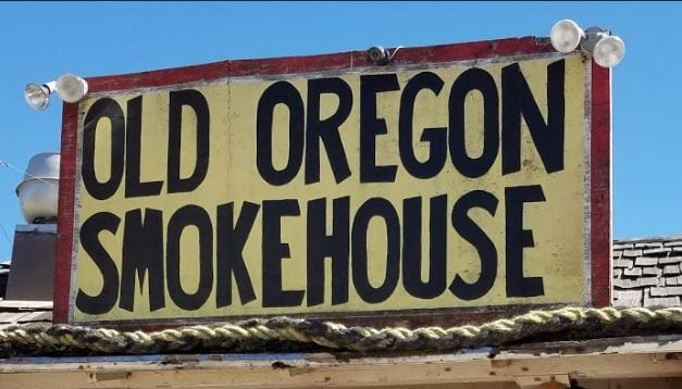 Old Oregon Smoke House, Rockaway Beach, Oregon