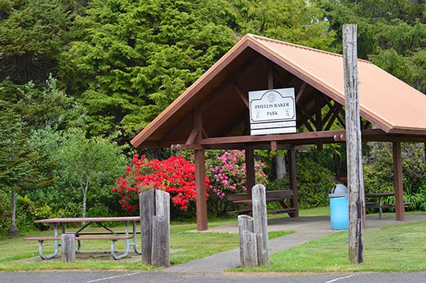 Phyllis Baker Park, Rockaway Beach, Oregon