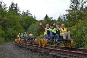 Oregon Coast Railriders, Tillamook County, Oregon
