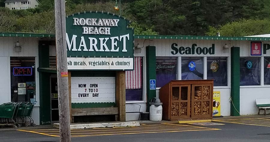 Rockaway Beach Market, Rockaway Beach, Oregon