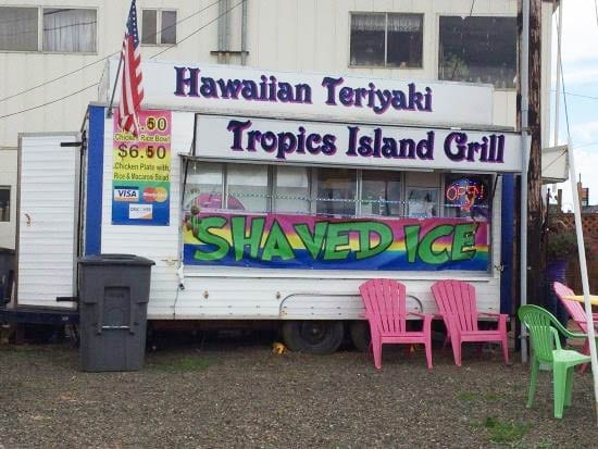 Tropics Island Grill, Rockaway Beach, Oregon