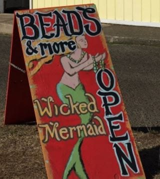 Wicked Mermaid, Rockaway Beach, Oregon