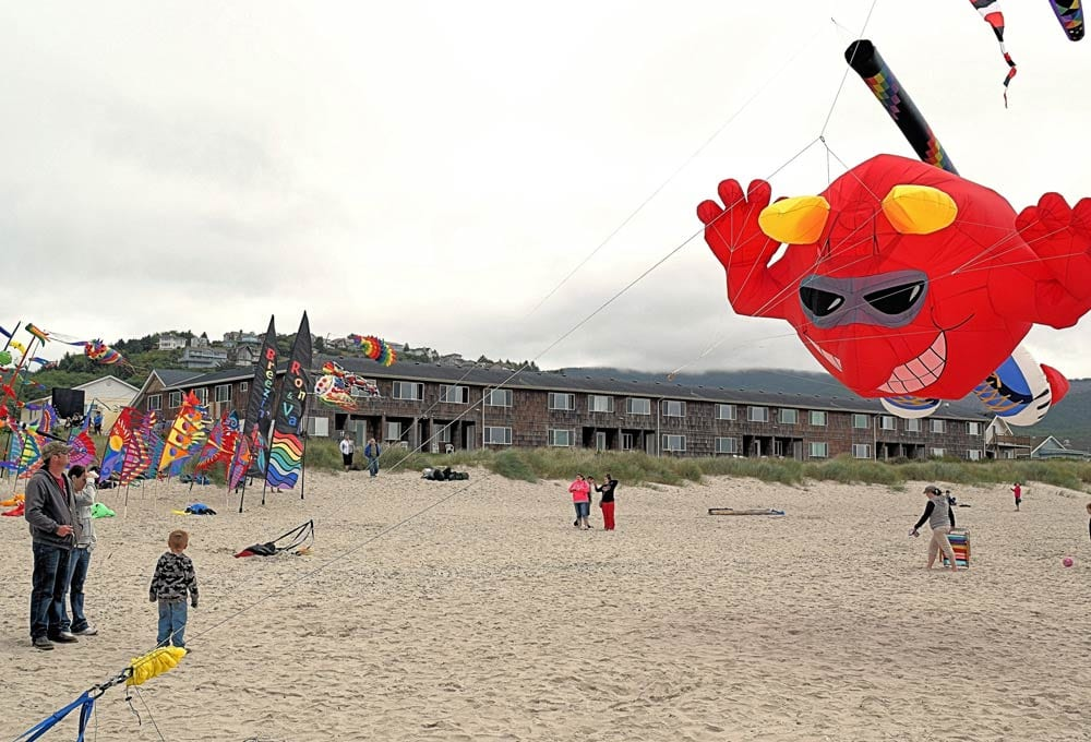 The annual Rockaway Beach Kite Festival