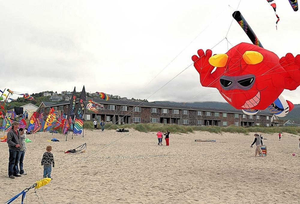 The annual Rockaway Beach Kite Festival