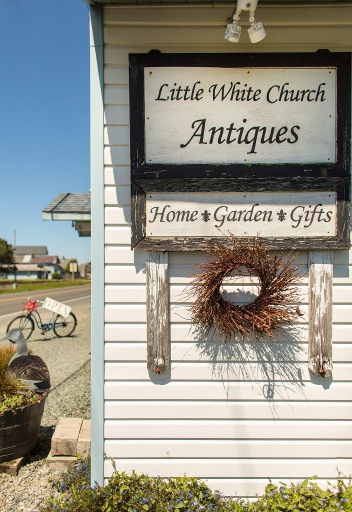 Antique shop at the Oregon Coast