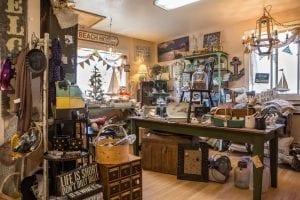 Little White Church Antique shop - Rockaway Beach, Oregon