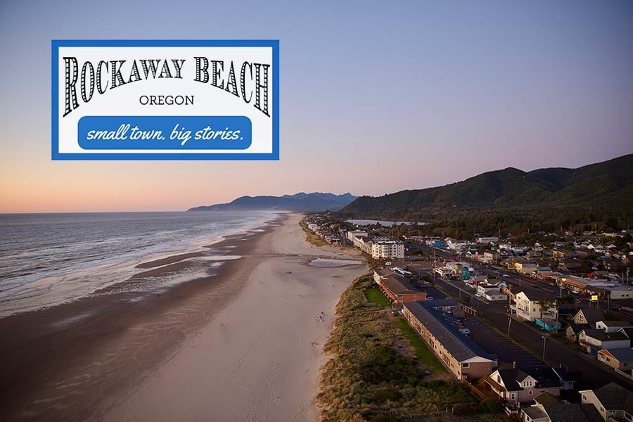 Rockaway Beach Drone Footage